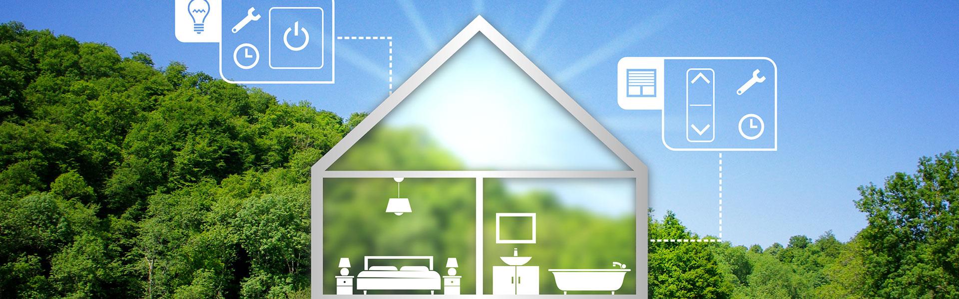 schéma domotique maison