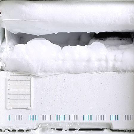 givre frigo