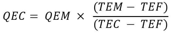 calcul volume eau chaude